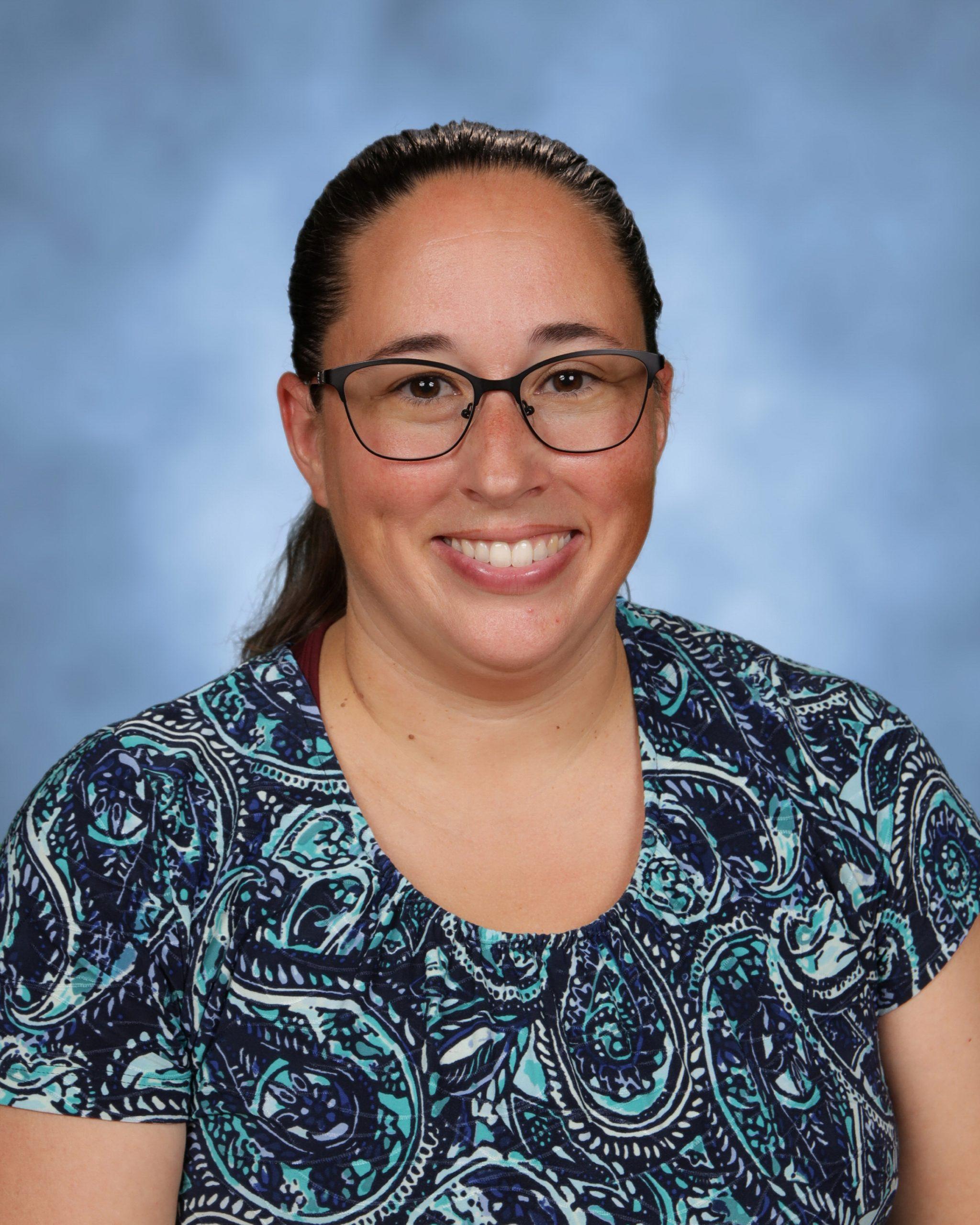 Mrs. Melissa Glinski : Seventh Grade Homeroom (6th-8th Grade Math & 5th-7th Religion) and Learning Spectrum Specialist